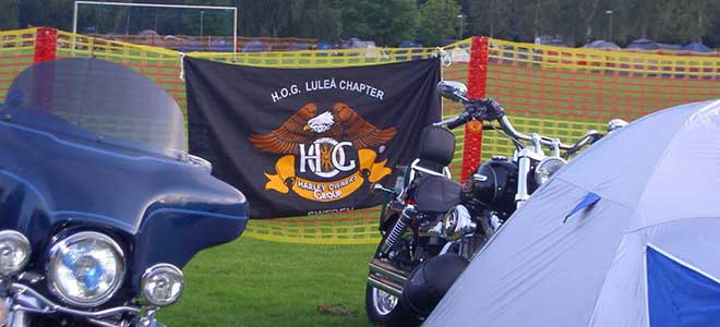 H.O.G. Luleå Chapter Camping